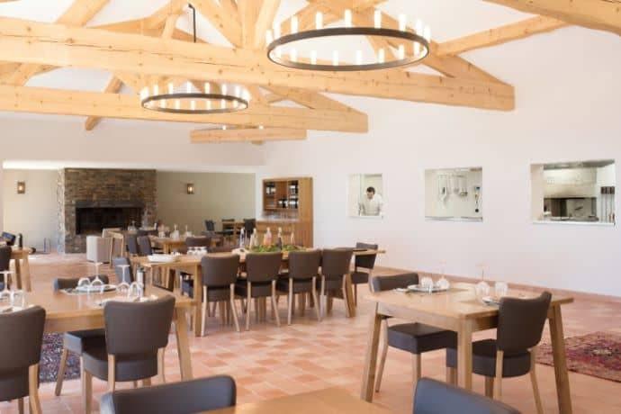 Salle du restaurant dans l'interieur