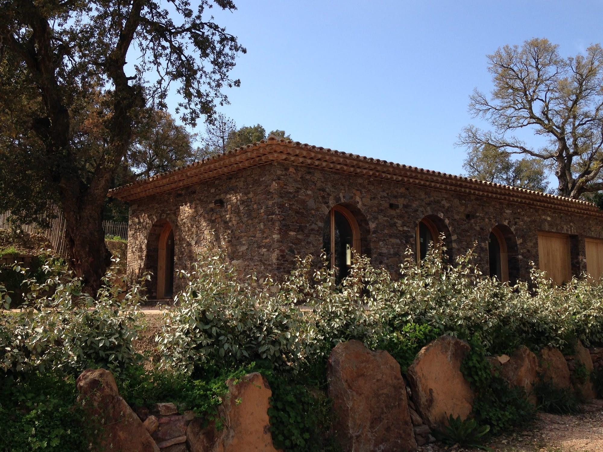 Façade exterieur dans Le potager / Exterior facade of the house Le Potager