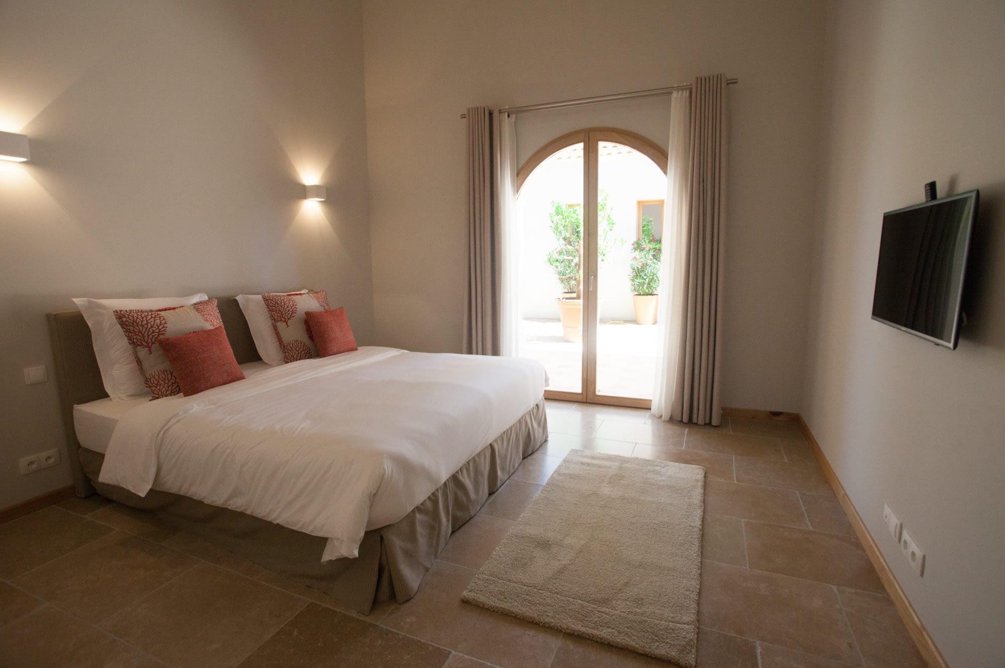 Chambre Le citronnier / Bedroom in the house Le citronnier