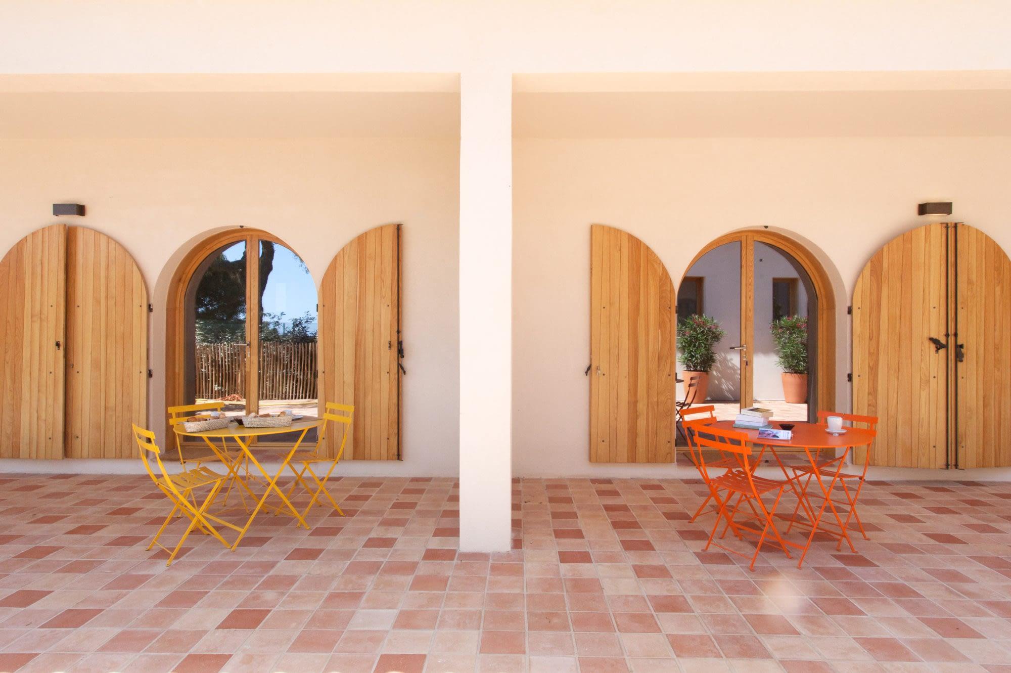 Terrasses L'oranger et Le citronnier / Terraces in the houses L'oranger and Le citronnier