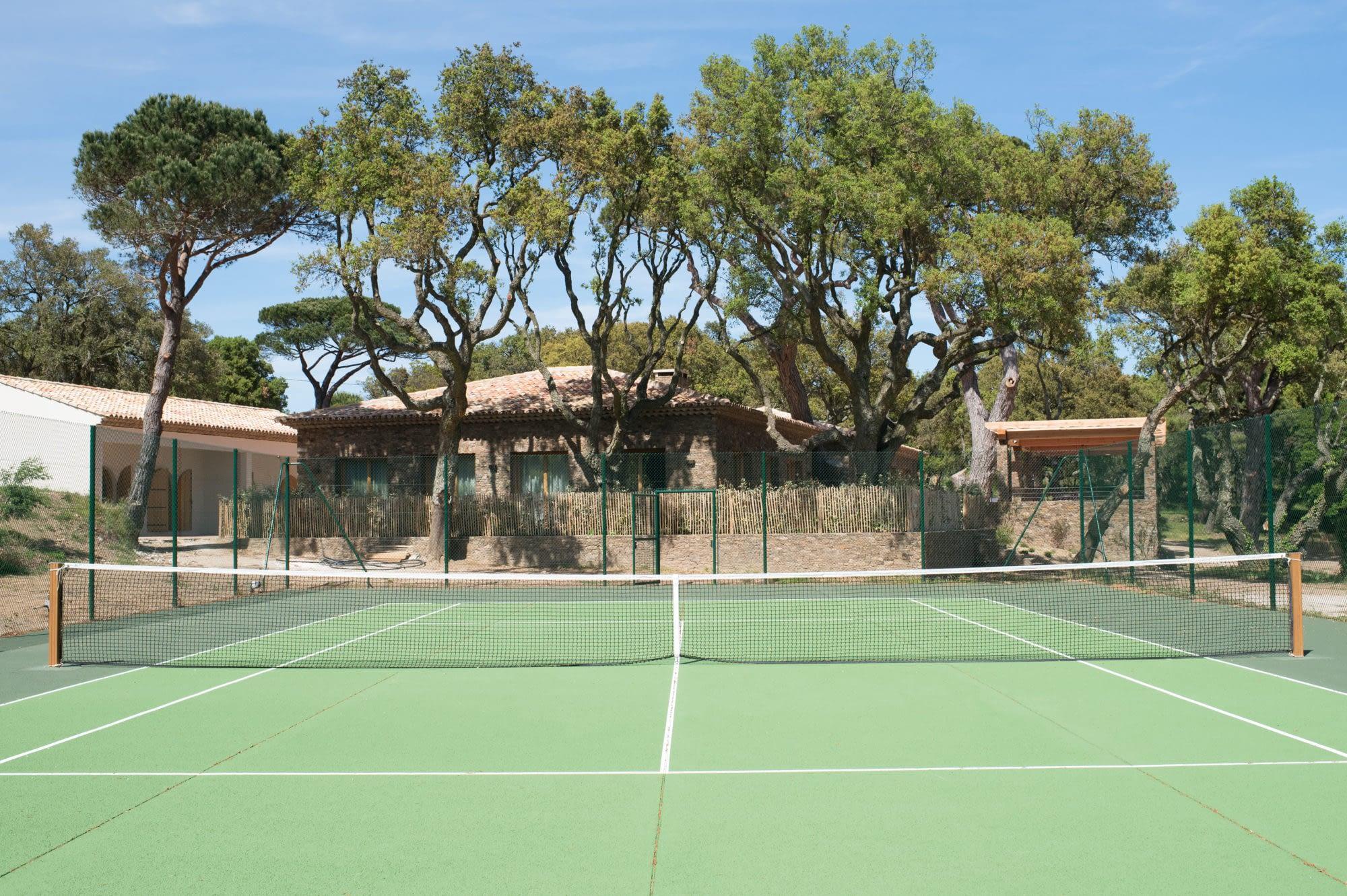 Court de tennis / Tennis court