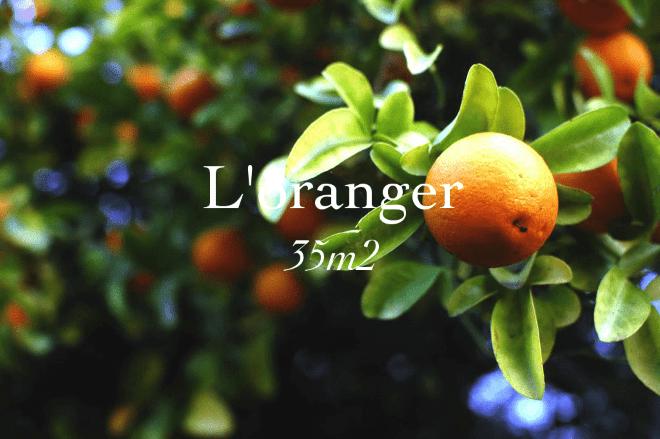 L'oranger, 35 square meters